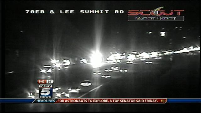 I-70 and Lee's Summit Road crash