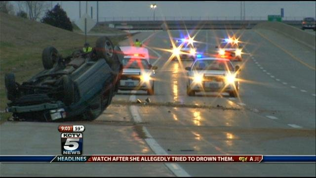 I-70 and 110th Street crash