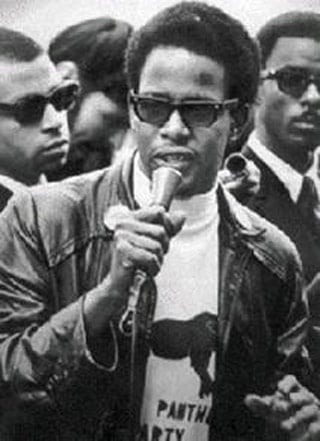 Pete O'Neal when he was a member of the Black Panther Party