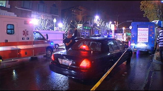 Two people were shot last weekend when shots rang out near The Gusto Lounge, a popular Westport bar, early Saturday morning.