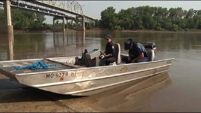 The Missouri Highway Patrol pulled two bodies from the Missouri River Saturday near Sugar Creek.
