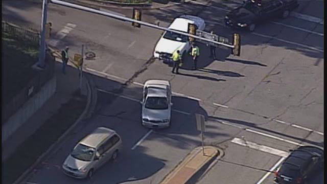 Scene of pedestrian struck in Olathe