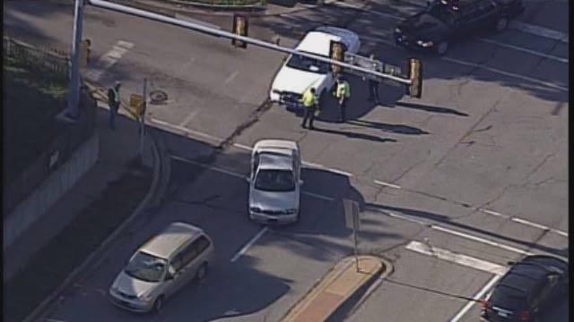 Scene of pedestrian struck in Olathe