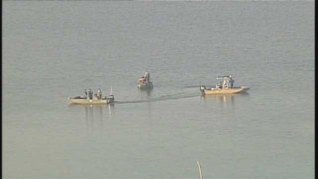 The bodies of two men were removed from Smithville Lake Friday morning