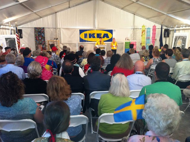 The new 359,000-square-foot store will open next fall. It will be the 40th Ikea store in the United States and will employ 300 workers.