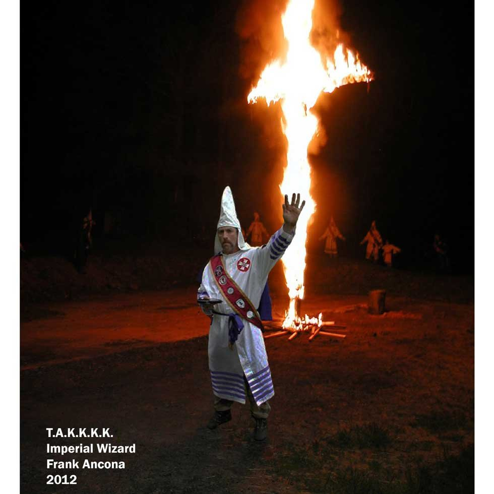 Frank Ancona at 2012 KKK event