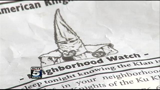 Letter thrown onto lawns and sidewalks in Lexington