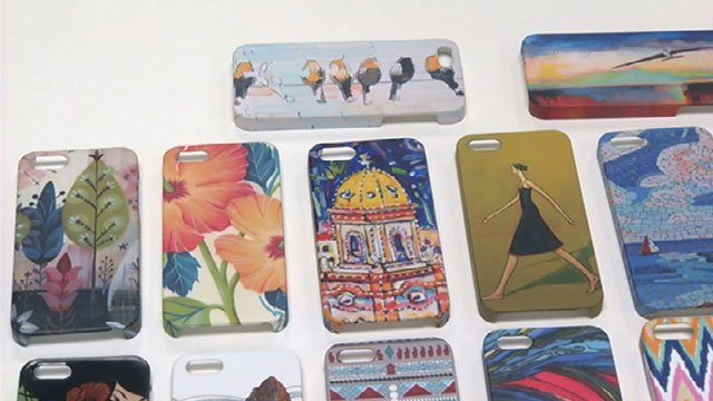 For Dawn Taylor and Christina Eldridge, their cell phone cases have a deeper purpose than scratch and shock protection.