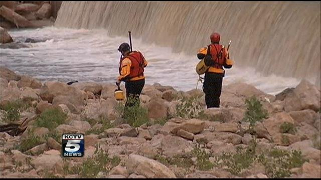 Investigators said the 30-year-old man last was seen about 7 p.m. Saturday near the bridge.  He was out fishing with friends when he decided to jump in and try swimming to the other side.