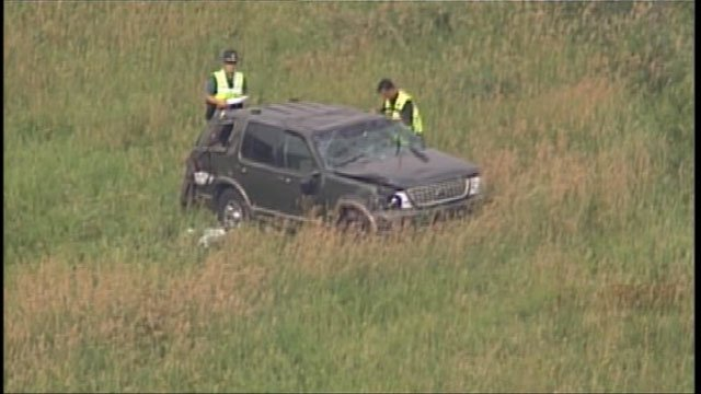 The Kansas Highway Patrol said it appears the driver was texting just minutes before the crash, but they will do a more thorough investigation to determine if texting is to blame.