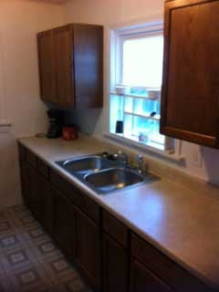 Kitchen after remodeling work
