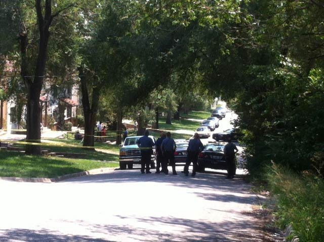 Park Gate Apartments shooting scene (Andy Sherer/KCTV)