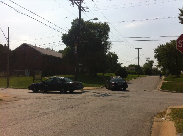 72nd and Cleveland shooting scene (Andy Sherer/KCTV)