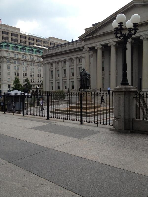 @MayorSlyJames: Treasury Courtyard in DC.