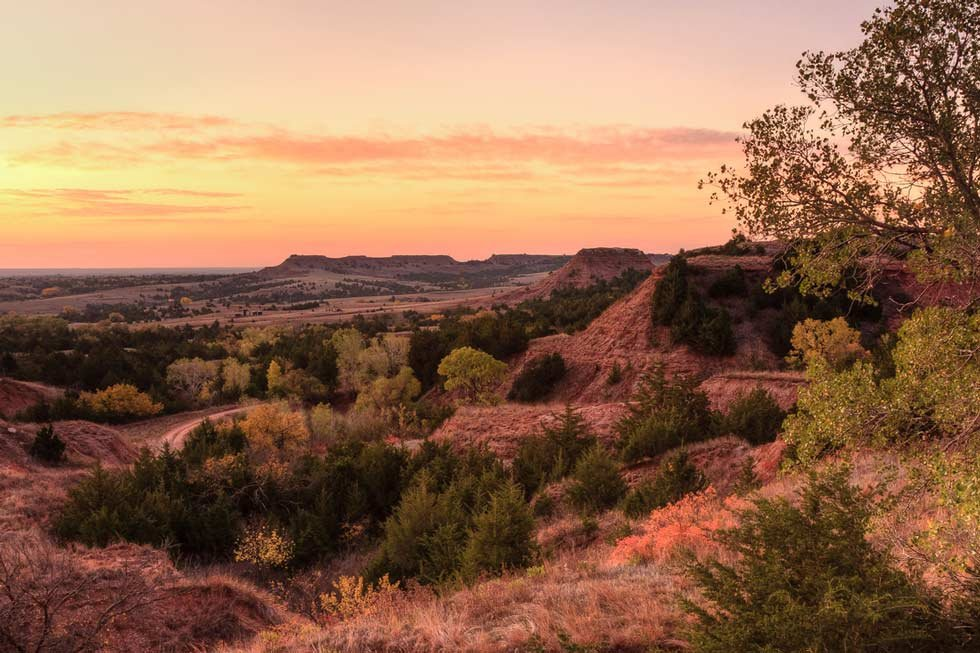 Red Hills near Medicine Lodge (Scott Bean)