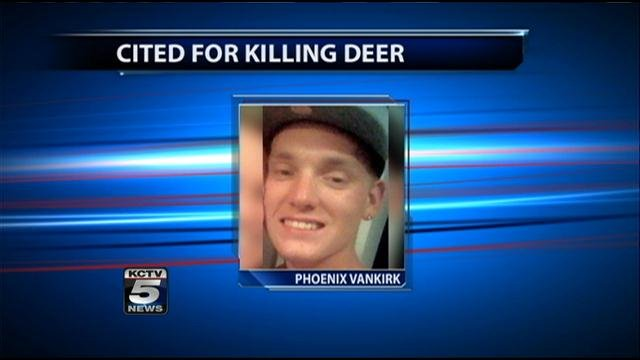 Man accused of fatally shooting cemetery deer