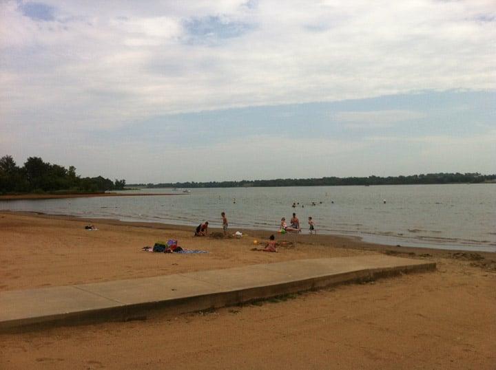 Longview Lake (Justin Schmidt/KCTV)