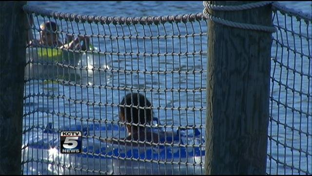 Schlitterbahn Water Park in KCK closed for the season as usual at the end of the day Monday but not without giving a special family one last ride.