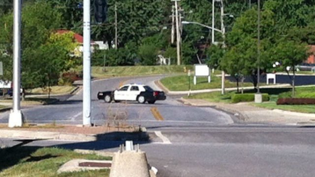 Officers were called to the Super 8 at Noland Road and Lynn Court about 6:15 a.m. Tuesday.