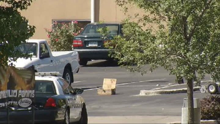Police are investigating a suspicious package at an Independence motel.