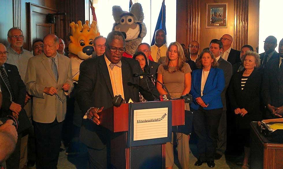 News conference at City Hall via Jonathan Carter/KCTV5