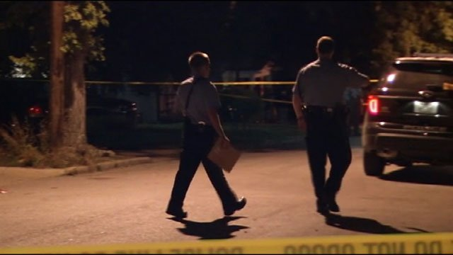 Authorities are looking for the person who shot and killed a woman inside a KCK home early Wednesday morning.