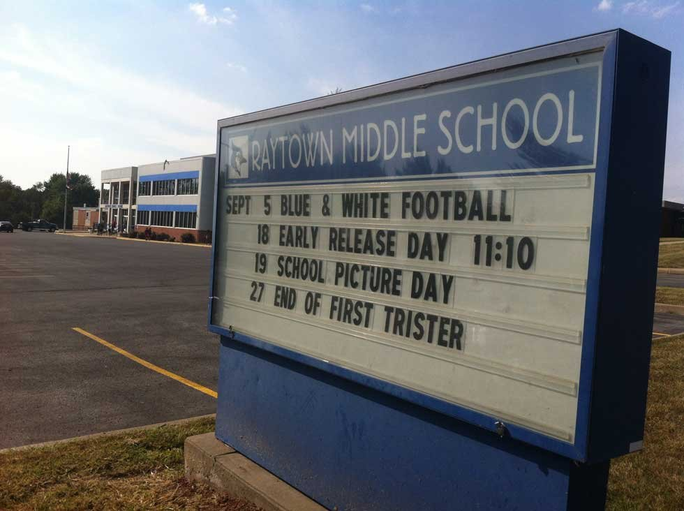 Raytown Middle School (Betsy Webster/KCTV5)