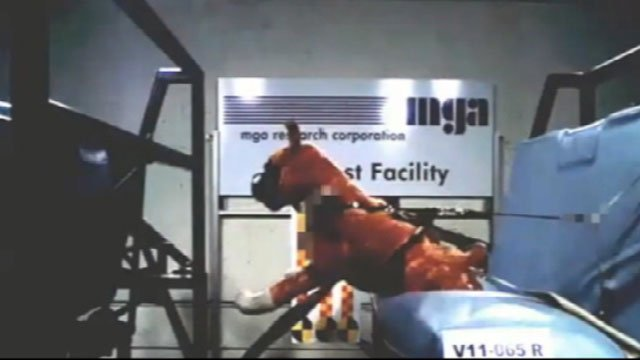 The Center for Pet Safety has put pet harnesses to the test.  In a recent crash test, a dummy dog's safety harness snap apart on impact.  The test showed just how dangerous it is even if a dog is strapped in tight.