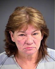 North Charleston police say 54-year-old Vernett Bader is charged with criminal domestic violence of a high and aggravated nature following the Monday night incident.