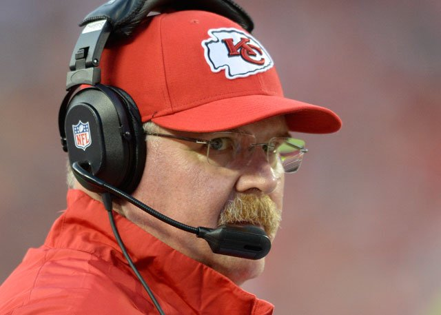 The game marks coach Andy Reid's return to the city where he led the Eagles to nine playoff appearances, six division titles, five NFC championship games and one Super Bowl. (Associated Press)