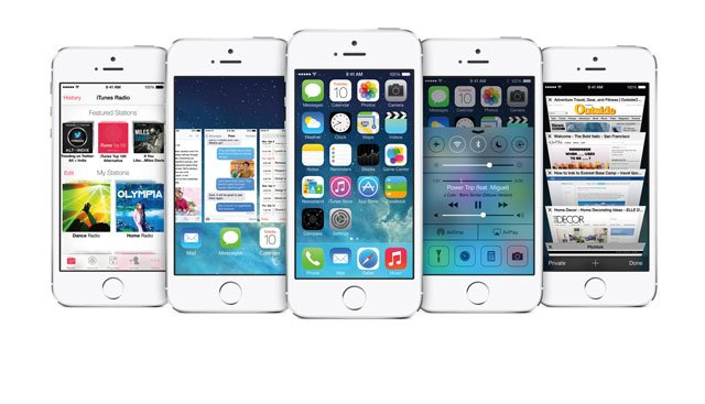 The new iOS 7 iPhone software not only has a new look, but Apple successfully addresses many long-standing issues. (Courtesy Apple)