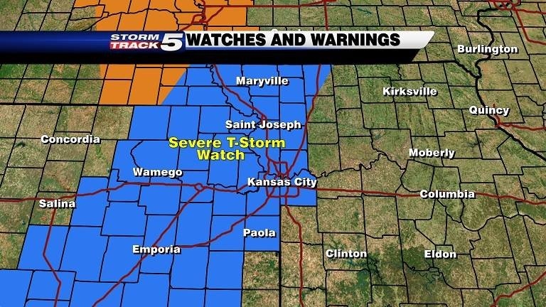Watches and warnings issued Oct. 4