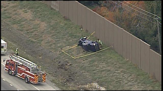 Crash on I-435 near Quivera
