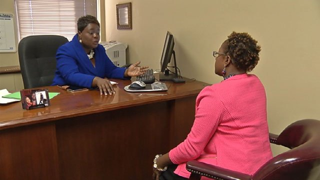 Marquita Miller, left, has a degree in accounting and owns her own firm in Kansas City called Five Star Tax.