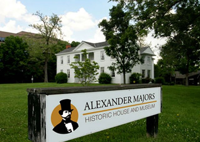 Alexander Majors House on West 82nd Street and State Line Road is one of the oldest mansions still standing in the area. It dates back to the Civil War era.