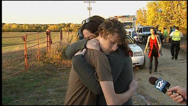 Mom and son reunited after bus crash