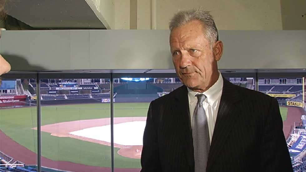 George Brett at Kauffman Stadium on Nov. 6
