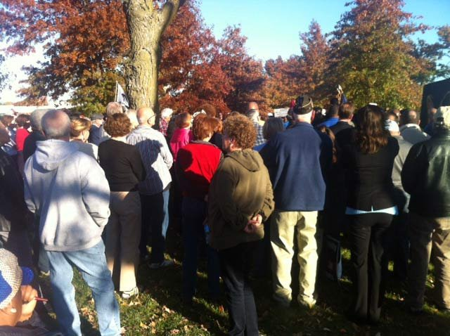 Liberty Memorial rally (Alice Barr/KCTV5)