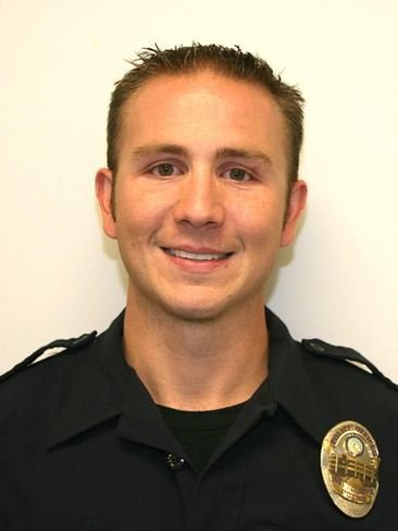 Officer James Lockard was hunting in northern Missouri on Saturday and was knocked off an ATV by a falling tree.  He was transported by helicopter to a St. Joseph hospital and died the next day.