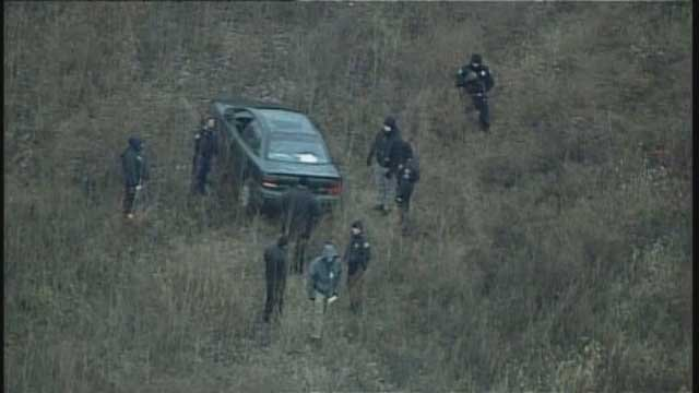 Scene where body found in field in east Independence