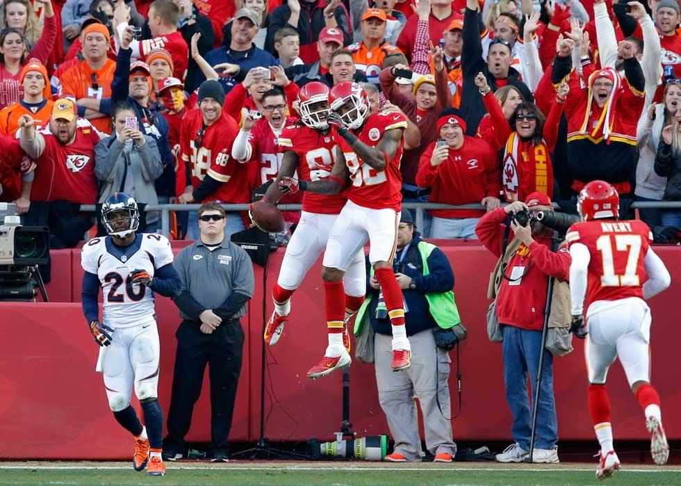 Chiefs-Broncos at Arrowhead on Dec. 1 (AP)