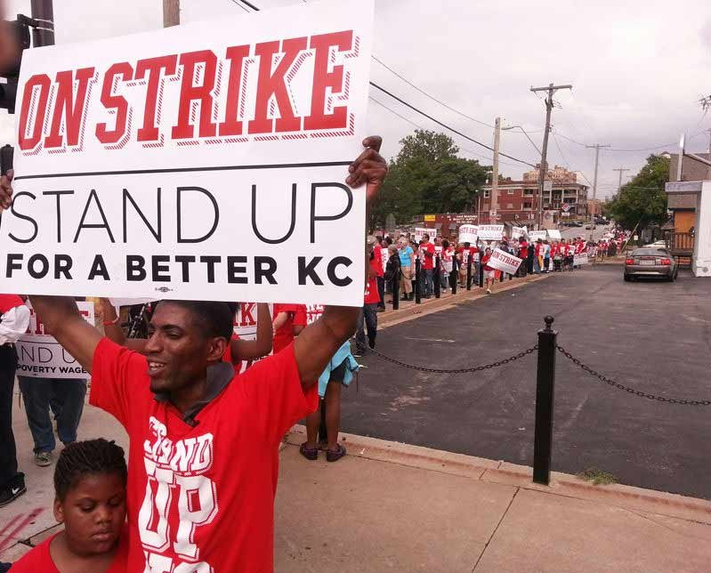 Kansas City Fast Food Strike