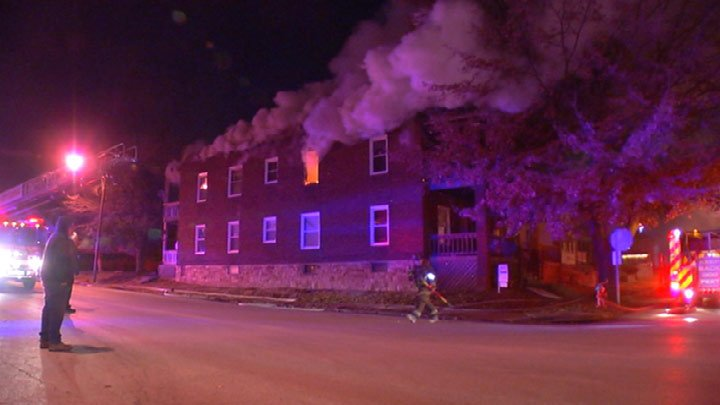 Overnight fires keep crews busy metro-wide - KCTV5
