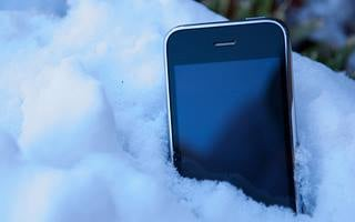 While bundling up, it is also important to keep your trusty cell phone warm, otherwise it could get too cold to work.