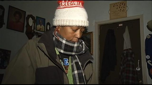 A local woman had her power turned off a month ago. Now, in these bitter temperatures, she has no heat in her home. It's so bad, her fiance's four fish tanks have frozen solid with the fish inside.