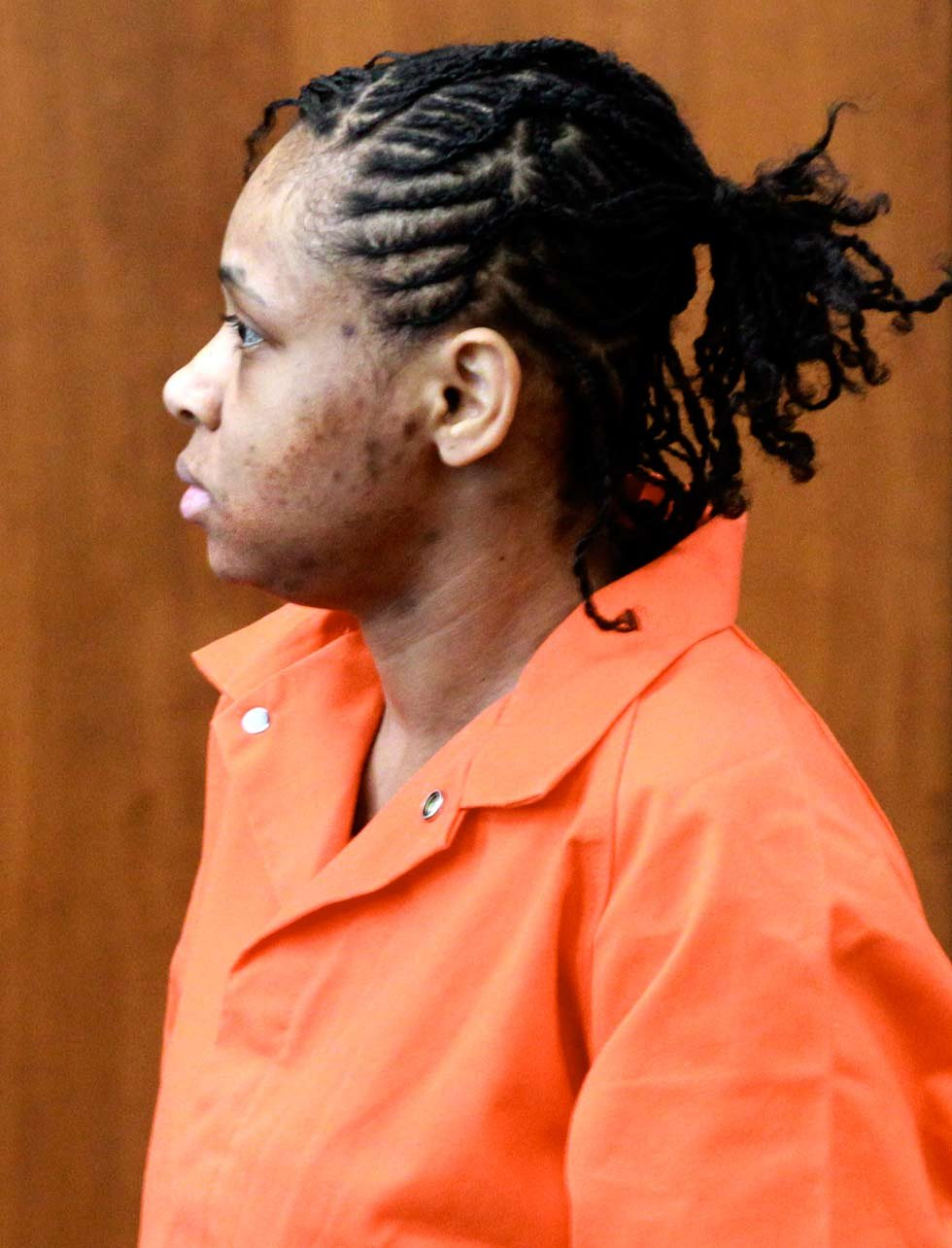 Jacole Prince in court Tuesday.