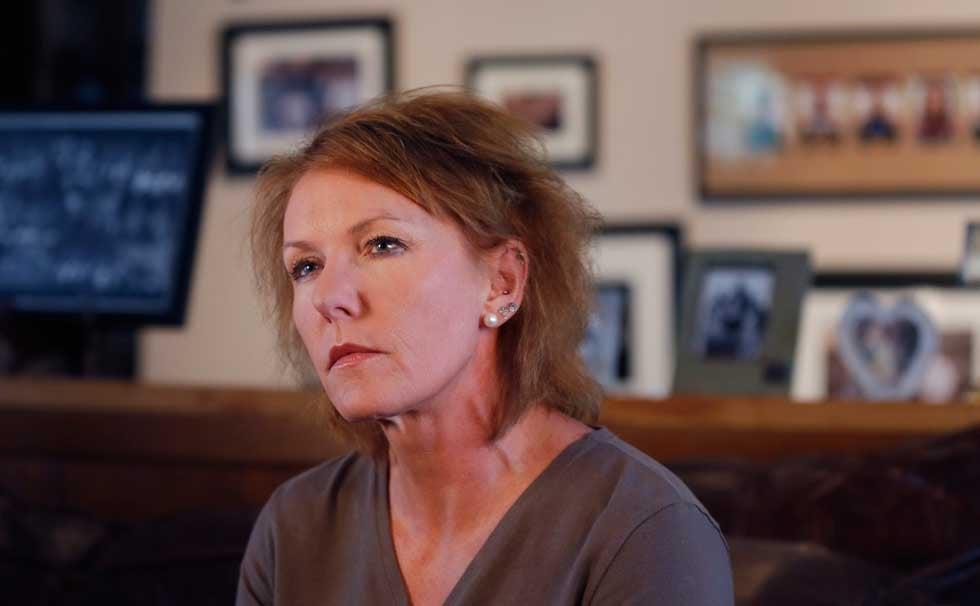 Melinda Coleman in October 2013 (Associated Press)
