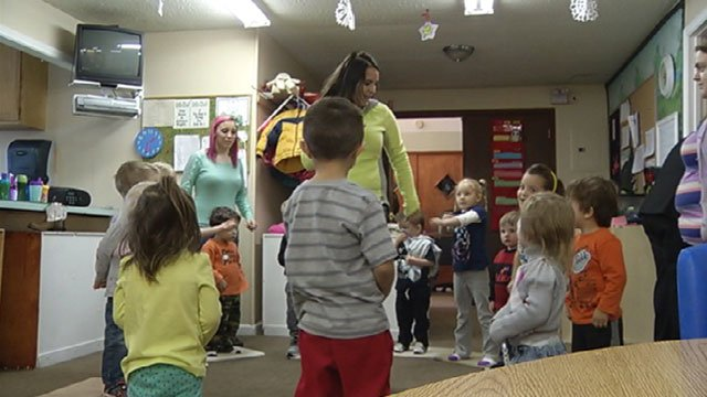 About half the parents who take their kids to Landmark Christian Daycare in Smithville are single moms, working two jobs or double shifts and still struggling to make ends meet.