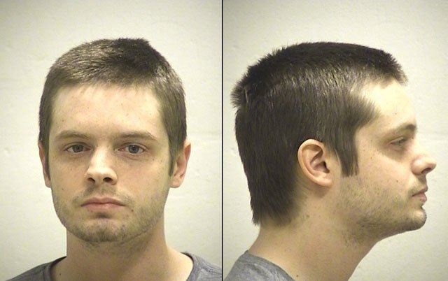 Devin C. Cox, 28, is charged with four felony counts of invasion of privacy.