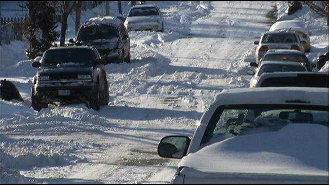 Some people might be shoveling far past their driveway, basically hand-plowing their street.  Don't blame the city though, because some neighbors might be to blame too.